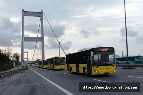 İBB açıkladı: İstanbul'da toplu taşıma kullanımı yüzde 83 oranında düştü