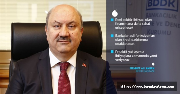 BDDK Başkanı Akben: Yeni düzenleme ile bankalar kaynaklarını daha verimli kullanacak