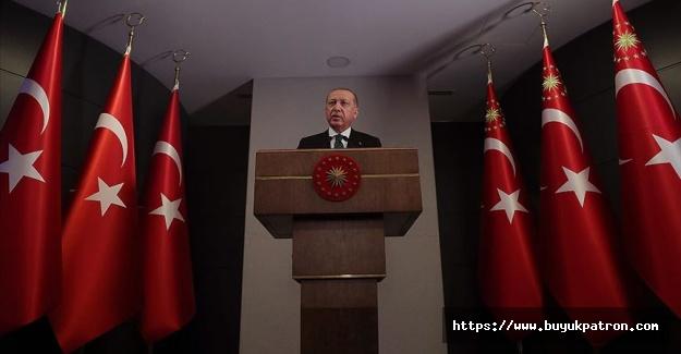 Erdoğan: Bu zorlu süreçten alnımızın akıyla çıkmayı başardık