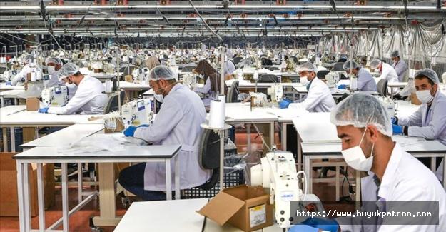 Malatya'da günlük 2 milyon maske üretiliyor