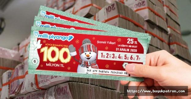 Milli Piyango yılbaşı çekilişinde büyük ikramiye çeyrek bilete isabet etti