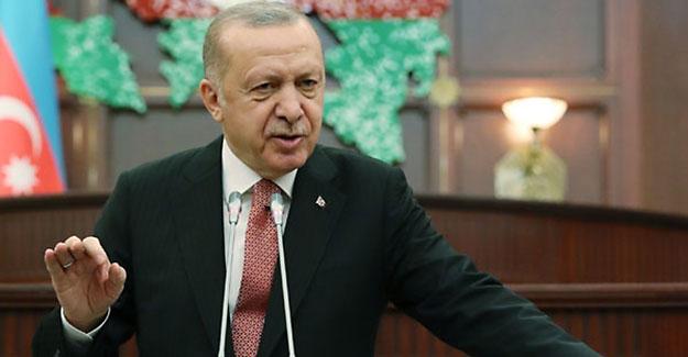 Cumhurbaşkanı Erdoğan'dan tarihi mesaj: Bütün dünya bilsin ki yanınızdayız!
