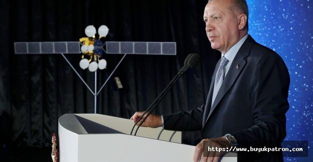Erdoğan: Türkiye, dünyada haberleşme uydusu üretebilen 10 ülke arasına girecek
