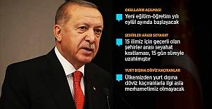 Cumhurbaşkanı Erdoğan: Bayramda 81 ilde sokağa çıkma kısıtlaması uygulanacak