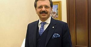 """TOBB Başkanı Hisarcıklıoğlu'ndan """"sürümden kazanmaya odaklanılmalı"""" çağrısı"""