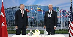 Cumhurbaşkanı Erdoğan ve ABD Başkanı Biden görüştü